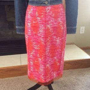 Bliss A-line Skirt, Sz 6